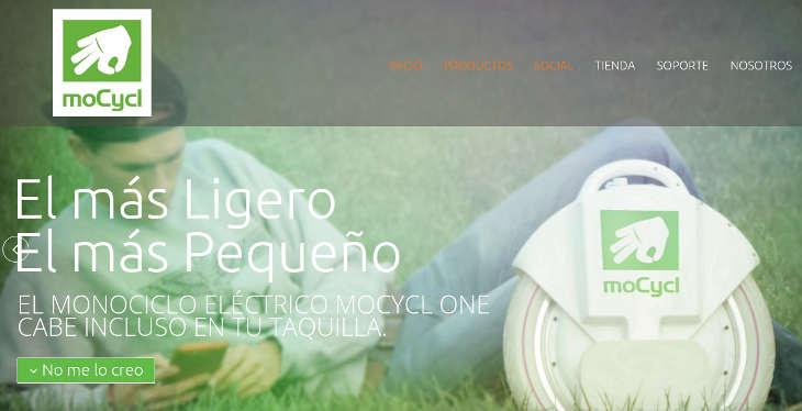 moCycl, el monociclo eléctrico desde Barcelona