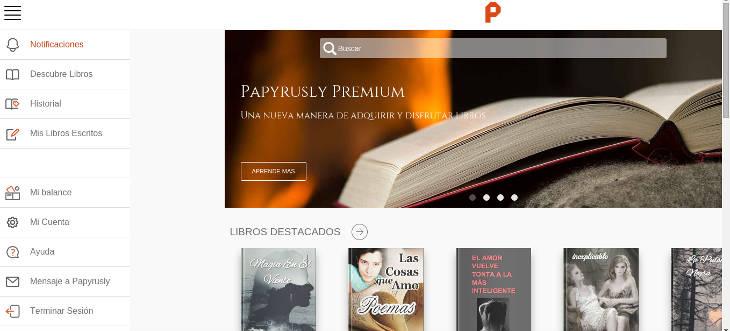 Papyrusly, biblioteca y herramienta para autores de libros