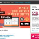 La campaña de crowdfunding: Yo Soy Pildorilla