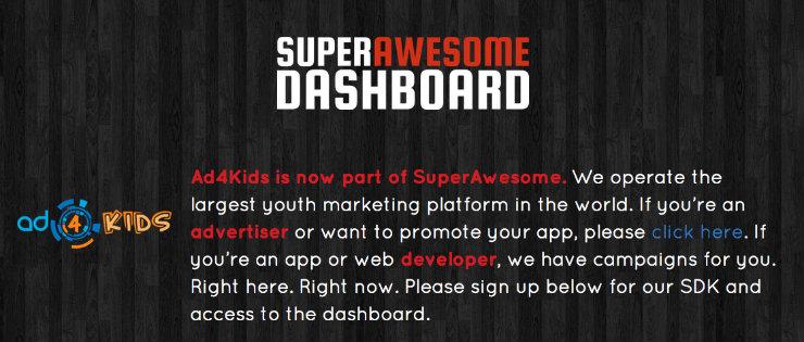 Superawesome compra la red de publicidad sobre temática infantil Ad4Kids