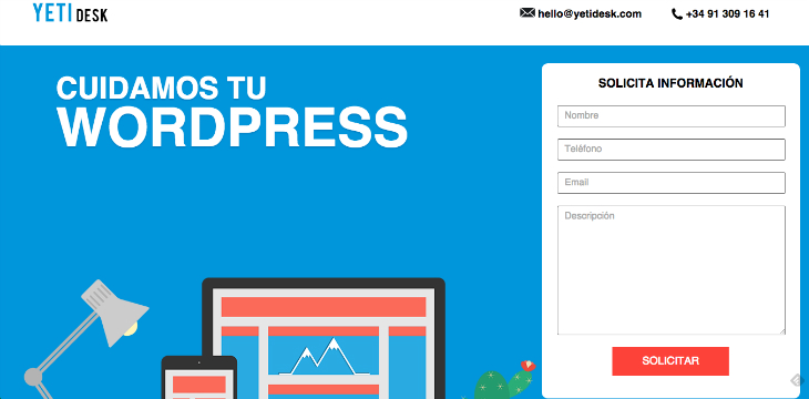 YETIdesk, el servicio técnico especializado en WordPress