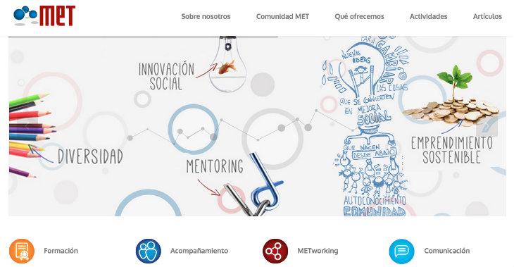 MET Community, una organización innovadora para impulsar el emprendimiento femenino