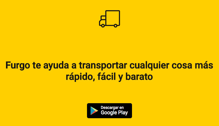 Furgo, la app de logística colaborativa
