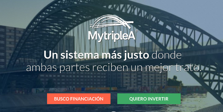 La empresa de crowdlending MytripleA consigue 1 millón de euros de financiación