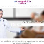 Nace la web Receta Médica Online