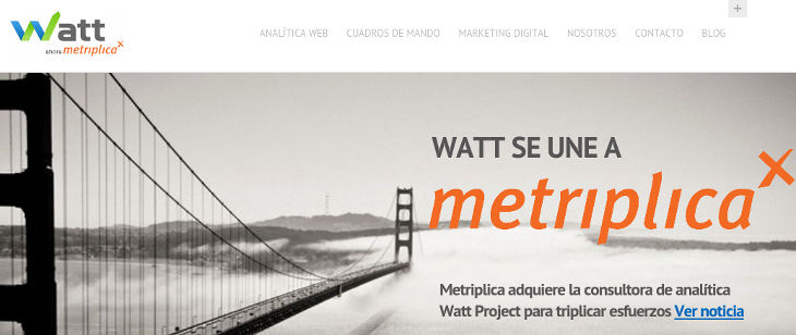 La barcelonesa Metriplica compra Watt Project