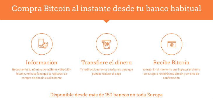 BTCPoint crea un servicio para retirar bitcoins en cajeros de España
