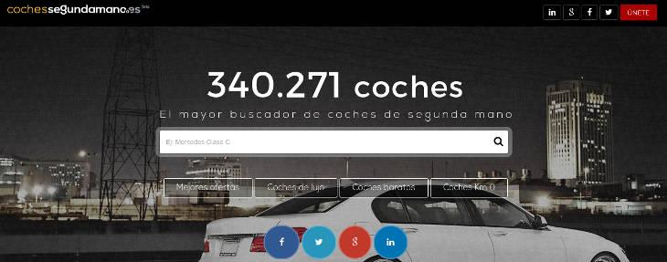 Cochessegundamano .es, a por el mercado online del vehículo de ocasión