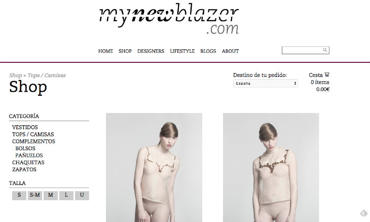Mynewblazer y el ecommerce de productos de lujo