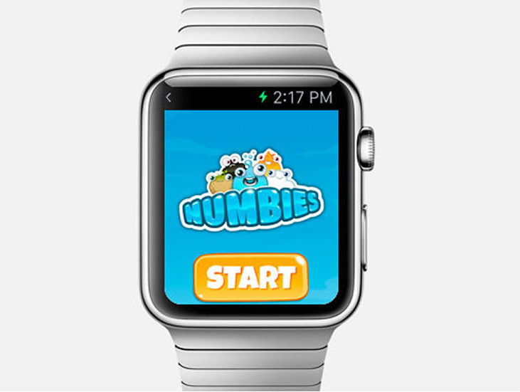 Numbies el juego de Playspace para Apple Whatch