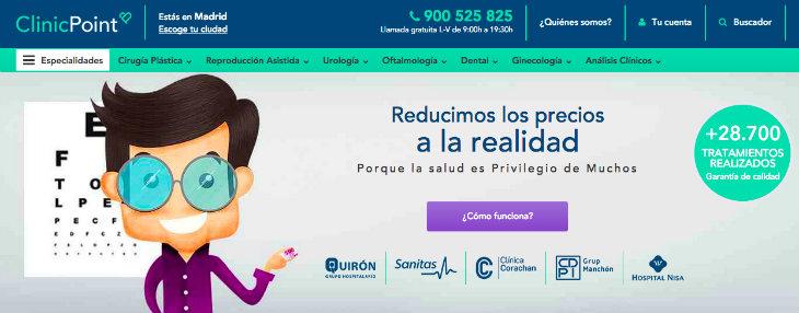 1 millón de euros de inversión en ClinicPoint, antes Medprivé