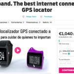 Geoband en campaña de crowdfunding
