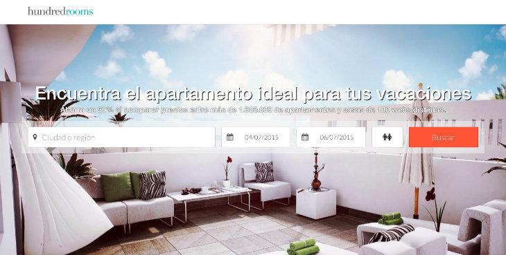 1 millón de euros de inversión en el buscador de apartamentos Hundredrooms