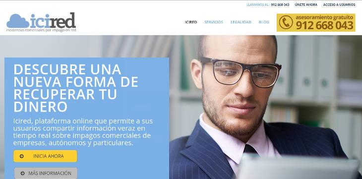 Icired, plataforma online para la gestión de impagos