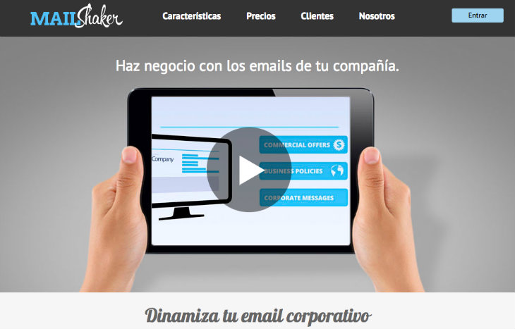 Mailshaker ofrece una original de hacer marketing con la firma del email