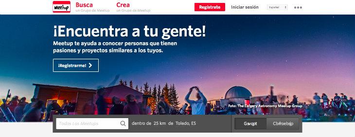 El gran éxito de Meetup en España