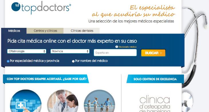 Ronda de inversión de 1,1 millones de euros en Top Doctors