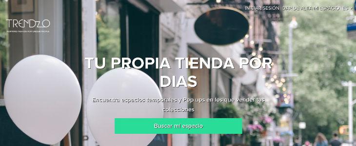 Trendzo se reinventa: marketplace de espacios temporales