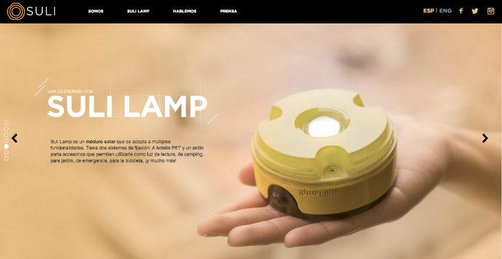 SULI, la lámpara solar que democratiza el acceso a la energía