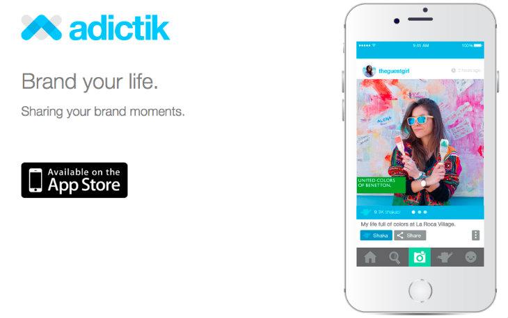 Adictik es la app para los para brand lovers