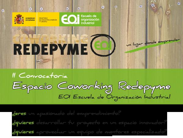 Aprovecha la nueva convocatoria del Coworking Redepyme de EOI en Madrid