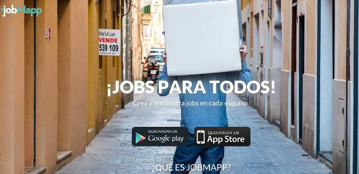Jobmapp, microtrabajos domésticos para todos