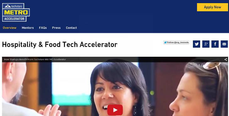 Techstarts Metro Accelerator busca startups en el sector de hostelería