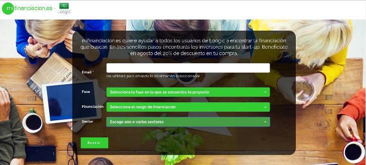 Mifinanciacion .es, encuentra el dinero que necesita tu startup