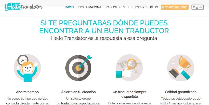 Hello Translator ofrece una nueva opción para encontrar traductores