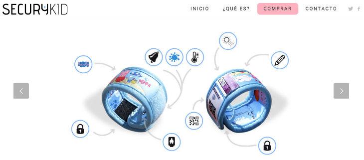 SecuryKid, la pulsera pensada para la seguridad de los niños
