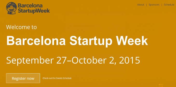 Techstars StartupWeek estará en Barcelona el 27 de septiembre