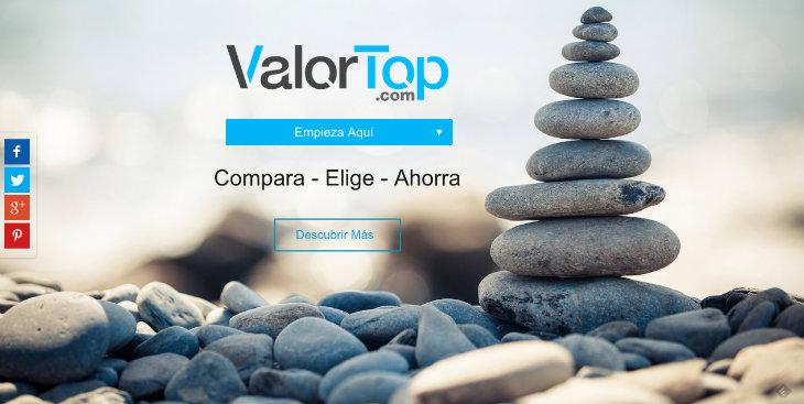 ValorTop, un nuevo comparador de productos tecnológicos