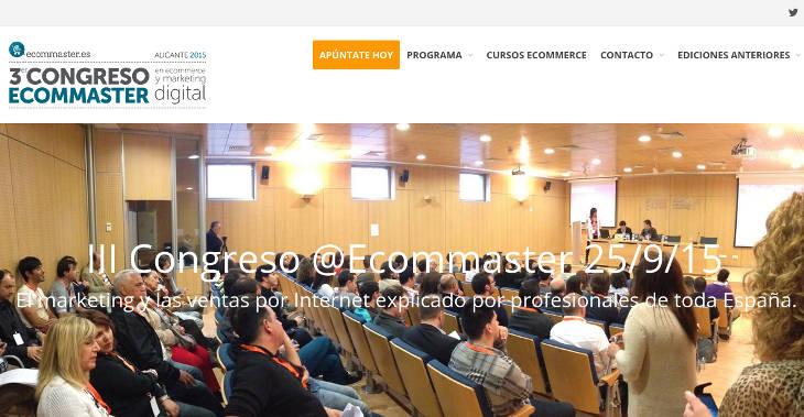III Congreso Ecommaster en Alicante