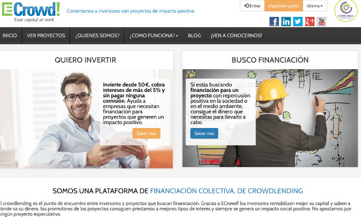 La plataforma de crowdlending que se financia mediante equity crowdfunding