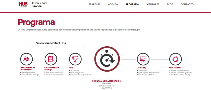 Nueva convocatoria de la aceleradora de startups HUB Emprende