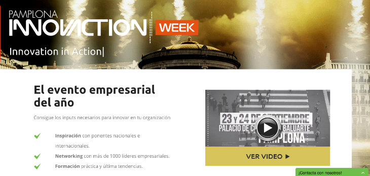 1.000 empresas participarán en Pamplona Innovaction Week