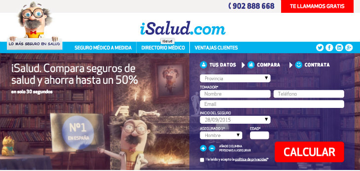 iSalud realiza una ronda de media for equity por 500.000 euros