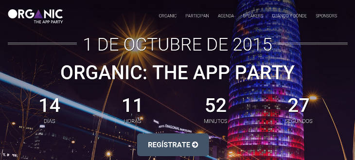 ORGANIC: The App Party, evento de Mobile App Marketing