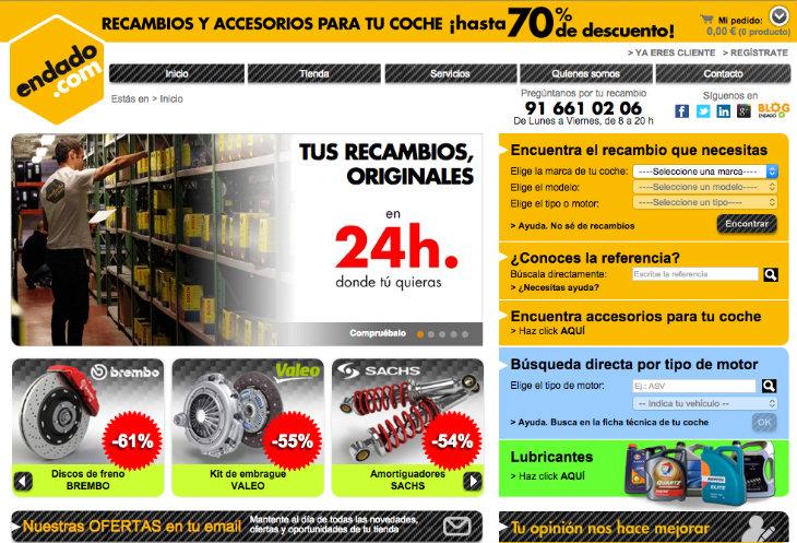 130.000 euros de inversión en el ecommerce Endado