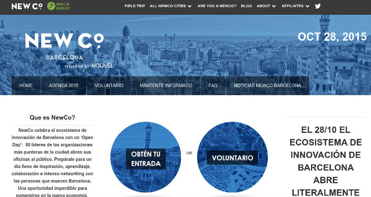 NewCo llega a España el 28 de octubre