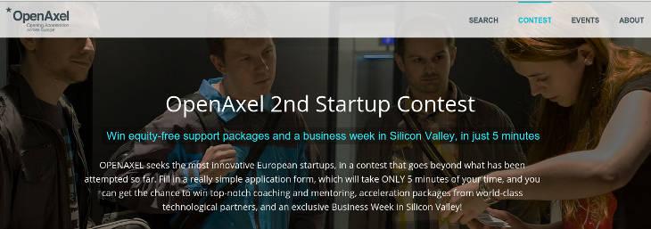 OpenAxel abre su segundo concurso para startups