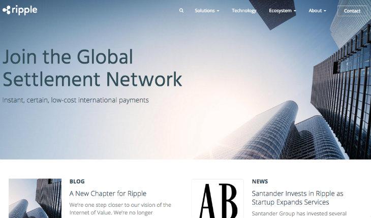 Santander InnoVentures invierte 3 millones de dólares en Ripple