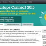 Competición para emprendedores Startups Connect