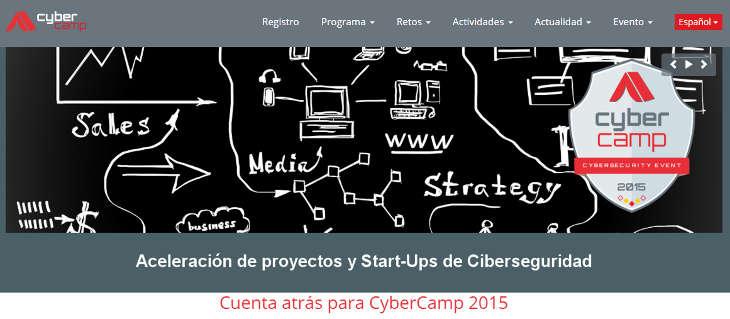 Aceleradora de Ciberseguridad 2016 y Cybercamp