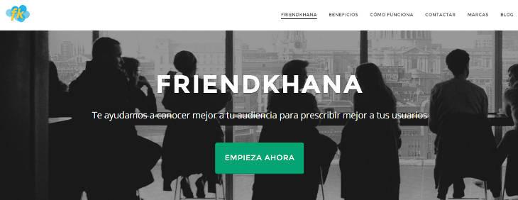 Friendkhana, microencuestas para conocer a tu audiencia