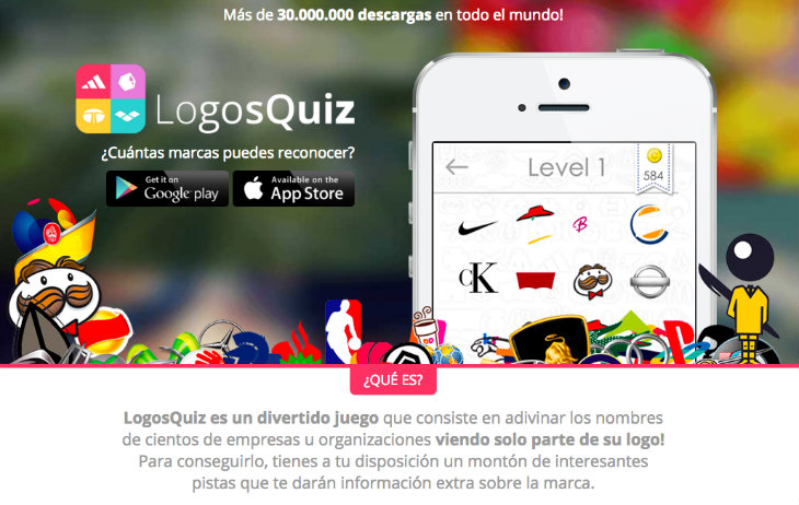 LogosQuiz, 40 millones de descargas en todo el mundo