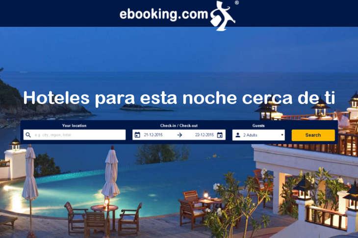 ebooking .com renueva Hotel Tonight para reservas en el dia