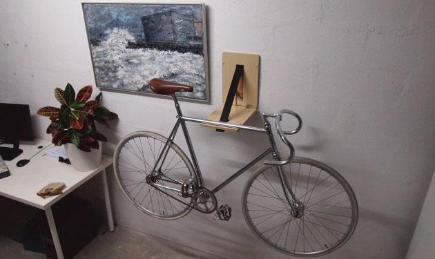 Campaña de crowdfunding para el colgador de bicis Inssein