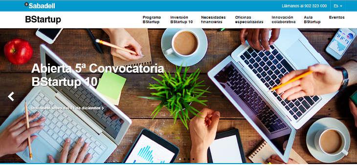 Nueva convocatoria BStartup10 de Banco Sabadell