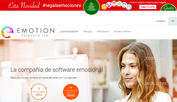 Emotion Research LAB crea una aplicación de medición de emociones